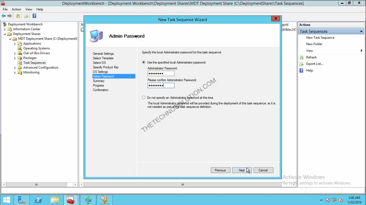 Deploy Windows 8 1 with MDT 2013 a Step by Step Guide
